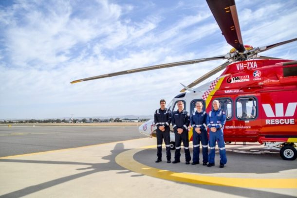 Helicopter Appeal During Difficult Times