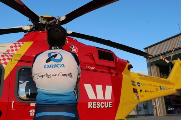 Orica extends Rescue Helicopter partnership to Tamworth
