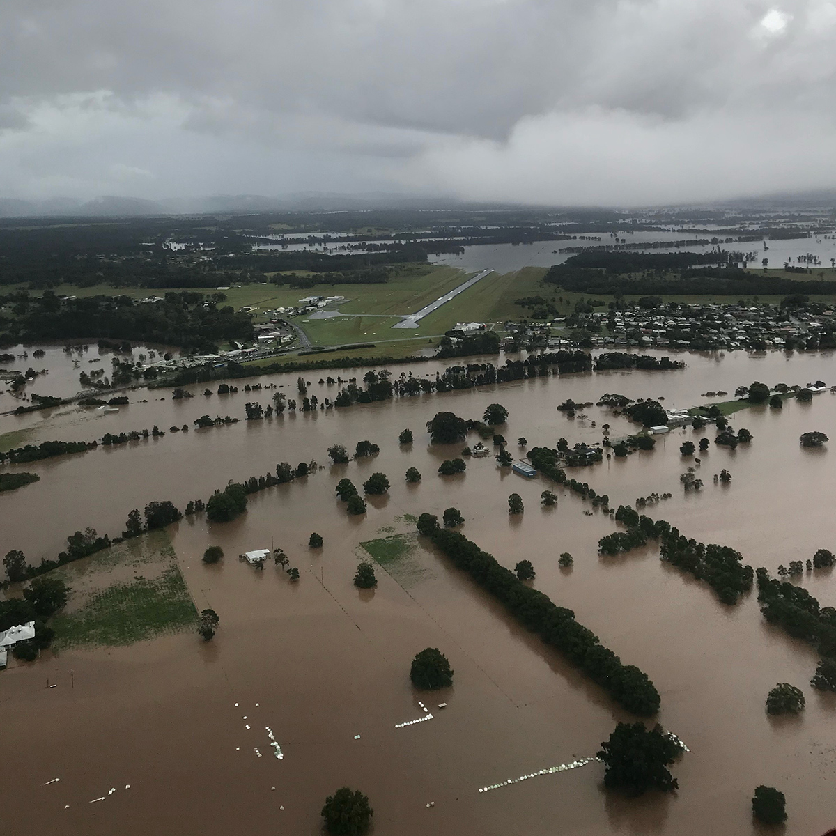 Recent widespread flooding on the NSW Mid North Coast.